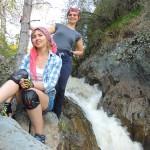 Водопад на Каспе