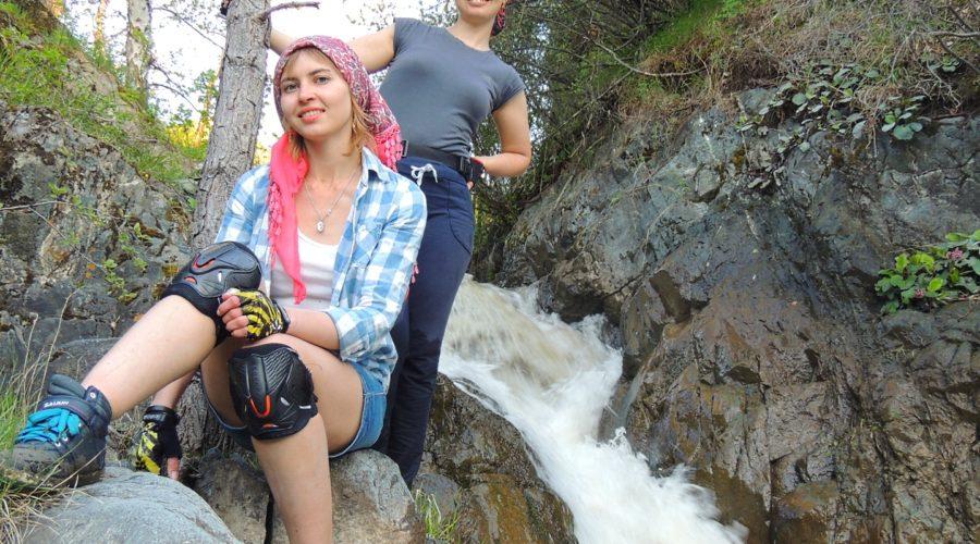 Водопад на реке Каспа