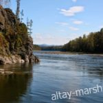 Река Бия. Алтай