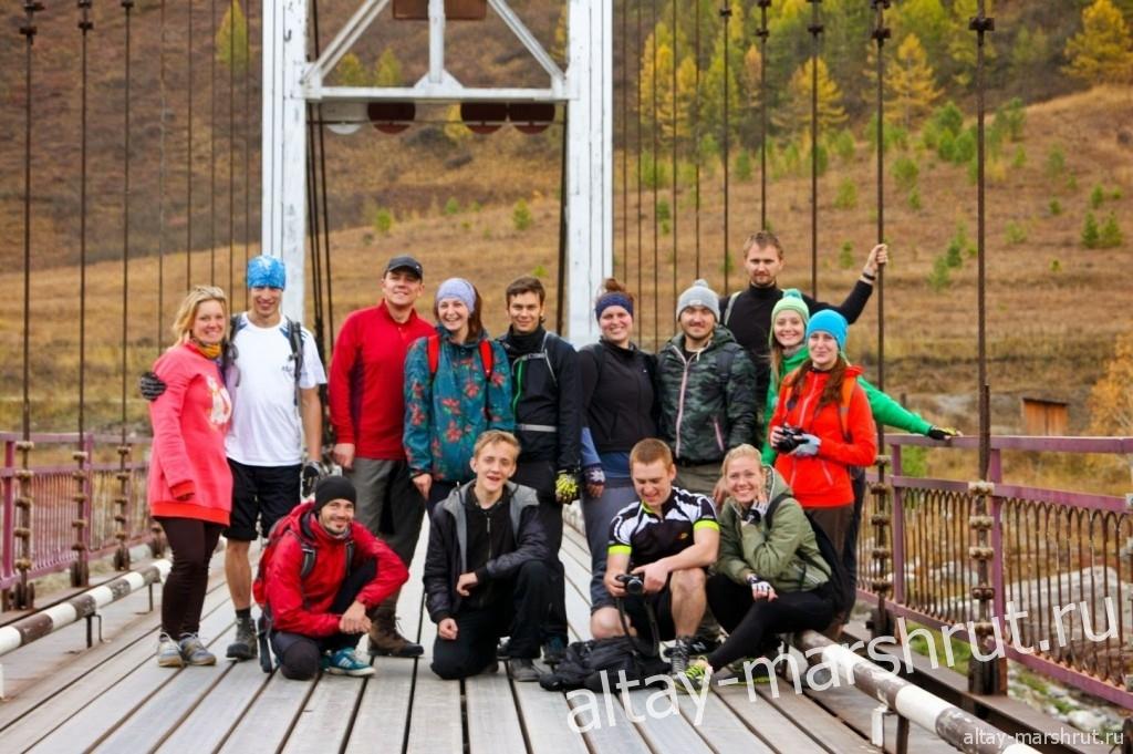 Чемальский тракт. Ороктойский мост