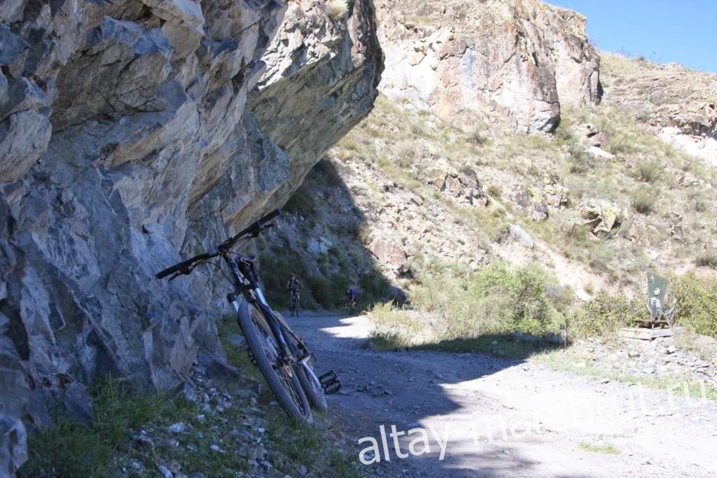 Дорога в скале. Инегень