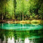 Гейзерное озеро. Алтай