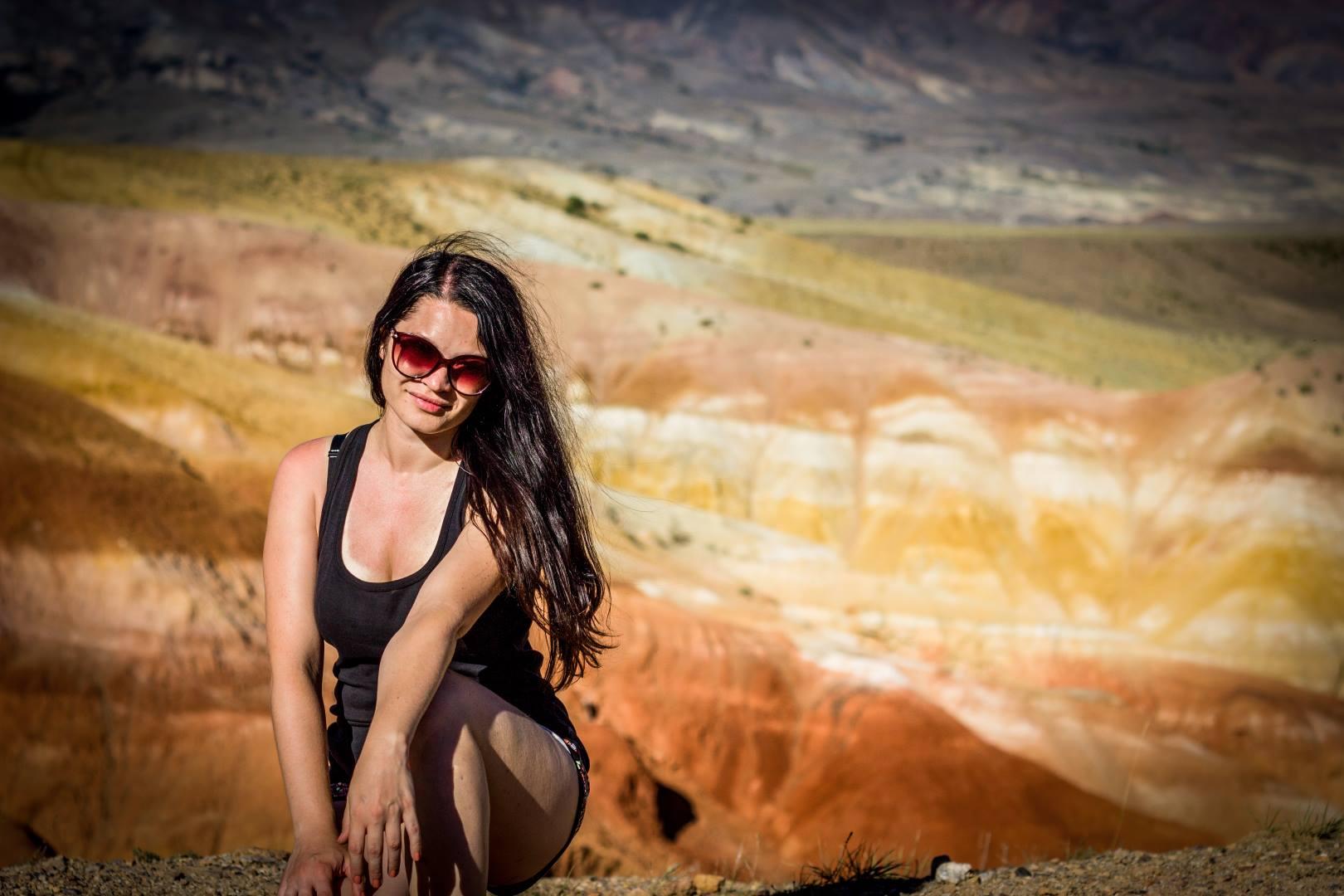 Марсианские горы Кызыл Чин. Алтай