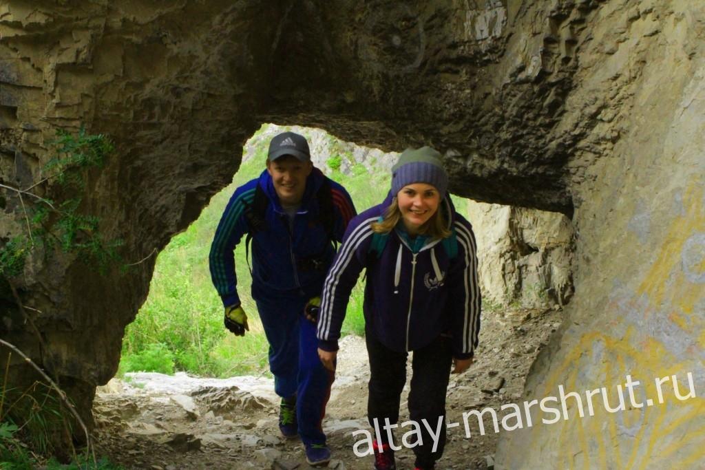 Еландинская пещера. Чемальский тракт