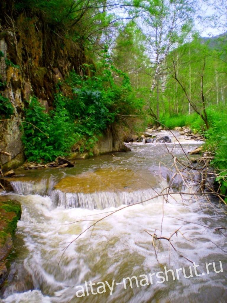 Река Каспа. Алтай