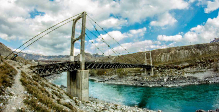 Чаплинский мост. Алтай