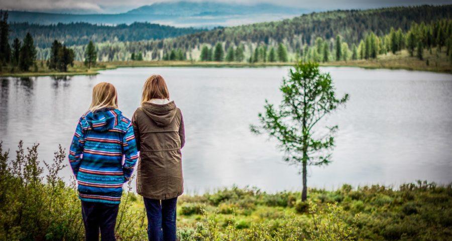 Озеро Киделю на Улаганском перевале