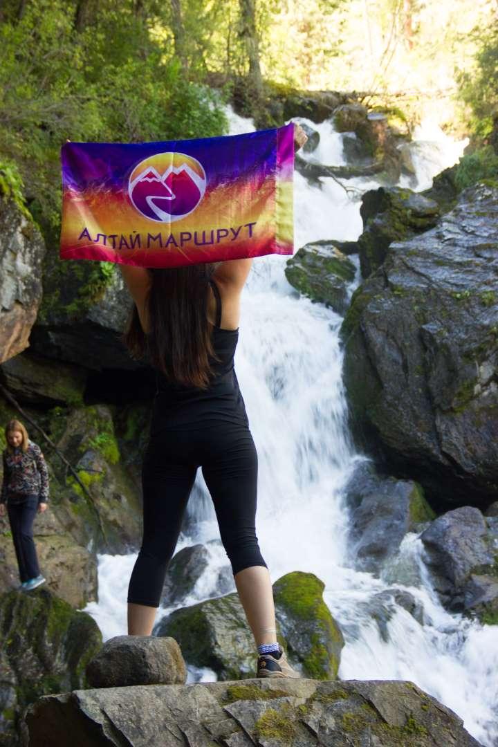 Водопад Карасу. Алтай