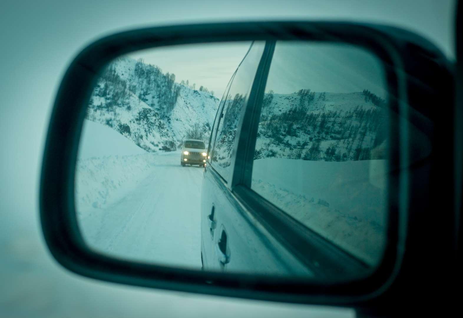 Горный Алтай. Зима